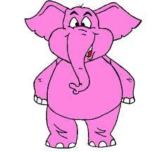 elefrante rosa