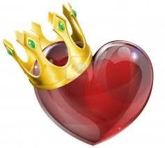 rey de corazón